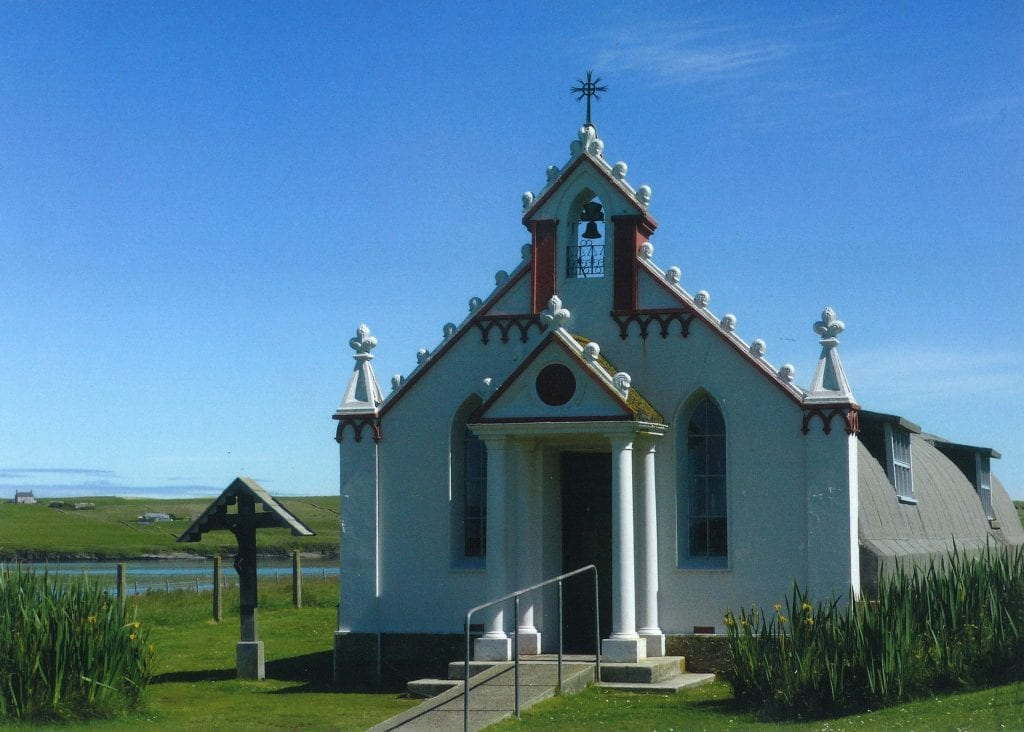 Nissen Hut Italian Chapel